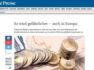 """Marian Panic: Nawet """"die Presse"""" musi napisać, że poziom """"ryzyka politycznego"""" w Polsce jest niski"""