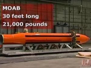 """USA zrzuciły w Afganistanie bombę GBU-43B """"matkę wszystkich bomb"""""""