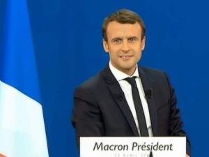 Wybory prezydenckie we Francji ze znaczną przewagą wygrywa Emmanuel Macron