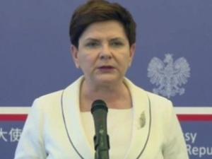 Premier Szydło w Pekinie: Polska jest postrzegana w Chinach jako brama do UE