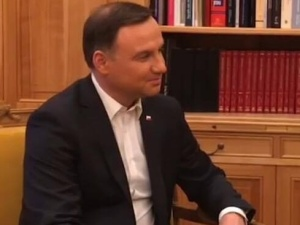 Prezydent Duda komentuje rozmowę z Macronem: Liczy na dobrą współpracę