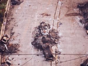 Samobójczy zamach obok dworca w Dżakarcie w Indonezji