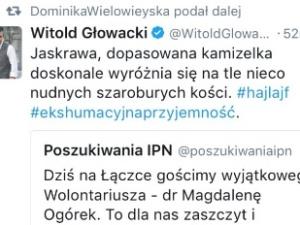 Tym razem Magdalena Ogórek podpadła salonowi pracą fizyczną na Łączce