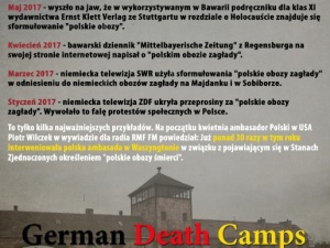 """Zrzutka na film dokumentalny """"German Death Camps"""""""