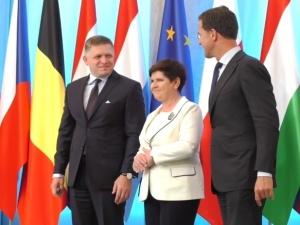Premier Słowacji Robert Fico w Warszawie: gratuluję premier Beacie Szydło sukcesu polskiej prezydencji