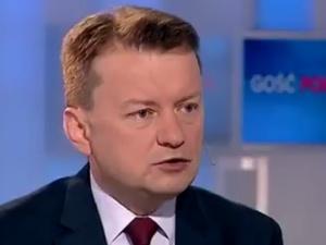 """[video] Mariusz Błaszczak: """"totalna opozycja"""" broni esbeków i chorego, patologicznego układu"""