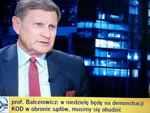 Balcerowicz odwołuje urlop: Instytucje UE nie powstrzymają PIS. My to musimy zrobić