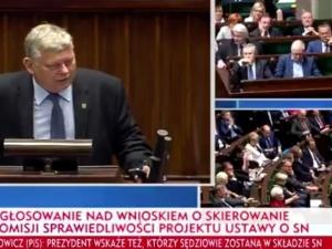 [video] Marek Suski do opozycji: Obrażacie, prowokujecie, a teraz macie pretensje za słowa prawdy