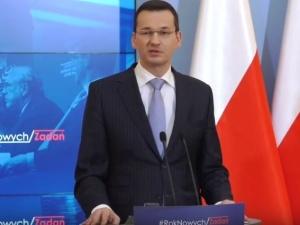 Mateusz Morawiecki: Nie boję się unijnych sankcji. Inwestorzy nie uciekną z Polski