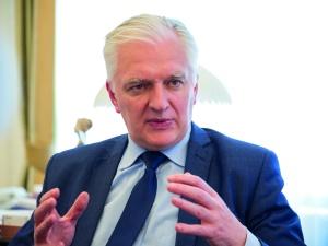 """Dominika Wielowieyska: """"Jarosław Gowin niczym Lech Wałęsa: jest za, a nawet przeciw"""""""