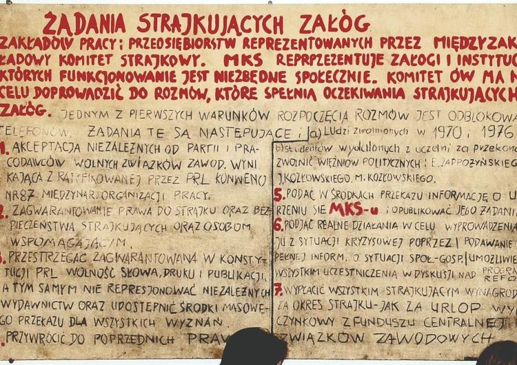 Tomasz Gutry [Pełny tekst] 21 postulatów. Porozumienia Sierpniowe. Zwycięstwo 1980