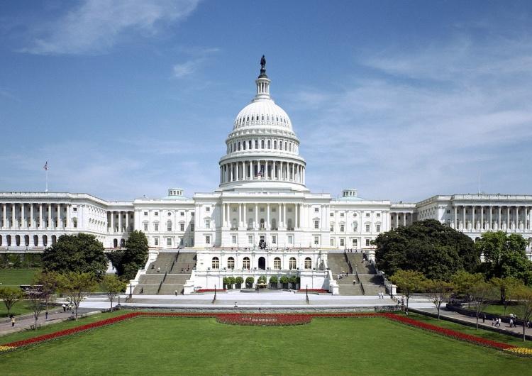 Kapitol, Waszyngton USA. Izba Reprezentantów przyjęła rezolucję wspierającą Inicjatywę Trójmorza