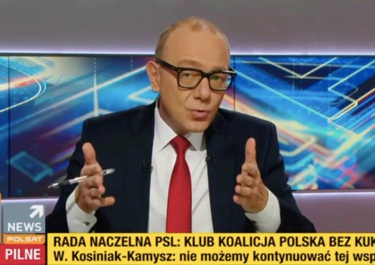 """Dziennikarz Polsat News Grzegorz Jankowski [WIDEO] """"Dziadersi nie pozwolą wam wybrać nawet Młodzieżowego Słowa Roku"""". Redaktor Polsatu nie przebiera w słowach"""