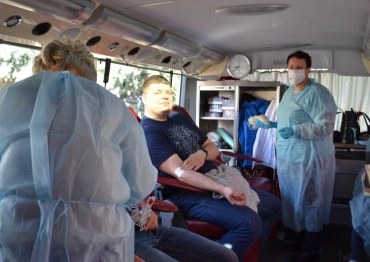 Udana akcja krwiodawcza w ZG Sobieski
