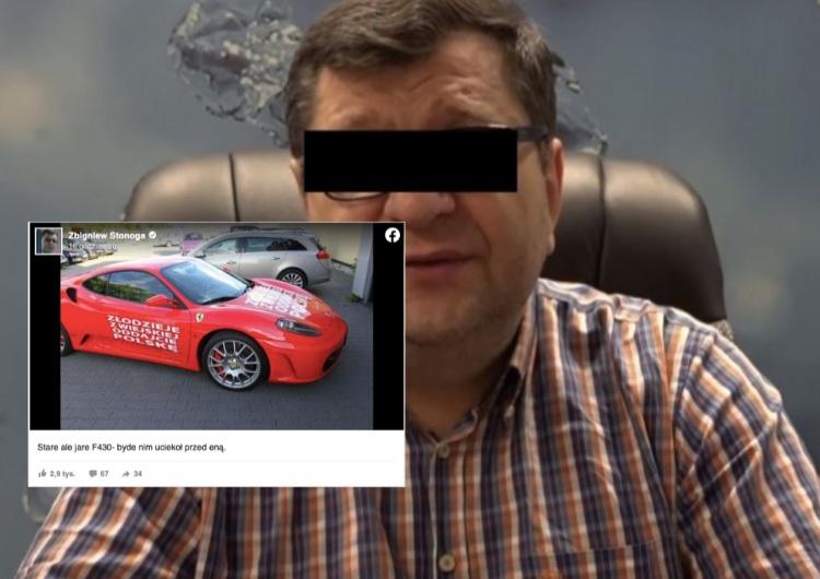 Poszukiwany Zbigniew S. pokazał auto.
