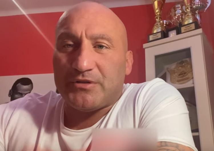 """Marcin Najman """"Wypociny"""". Najman pozywa dziennikarzy. Przyczyną słowa Salety"""