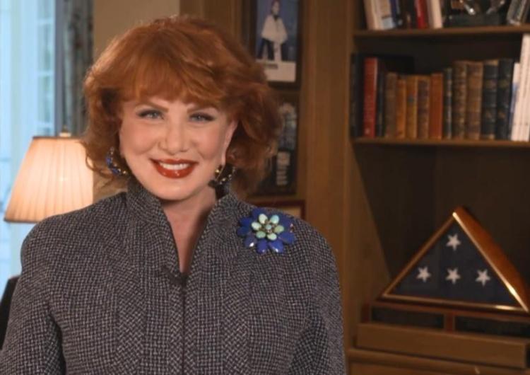 Georgette Mosbacher Mosbacher wspomina Reagana: