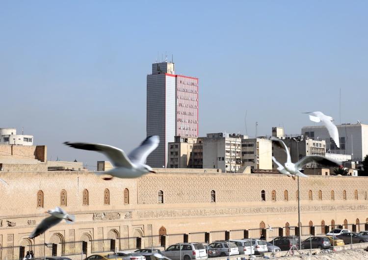 Atak rakietowy na ambasadę USA w Iraku