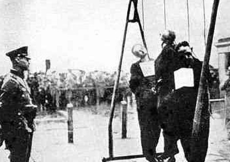 egzekucja Polaków przez Niemców podczas okupacji Patryk Jaki: Onet o