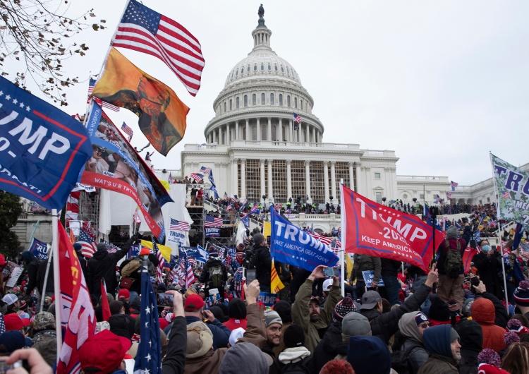 zwolennicy Trumpa pod Kapitolem [Tylko u nas] Cezary Krysztopa: To nie są dobre wieści
