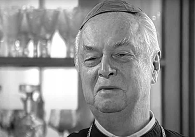 Nie żyje biskup Adam Dyczkowski