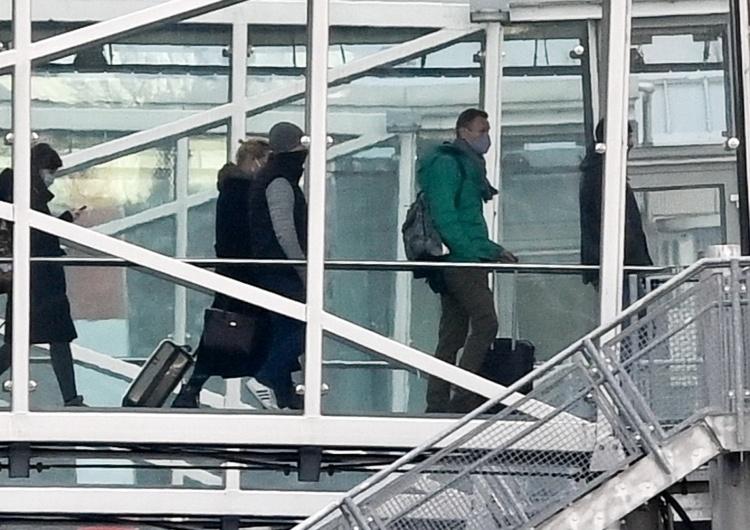 Rosja: Samolot z Aleksiejem Nawalnym wylądował w Moskwie