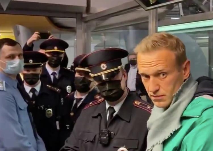 Aleksiej Nawalny zatrzymany podczas kontroli paszportowej