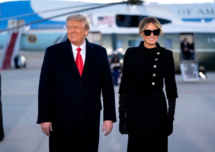 """Donald Trump i Melania Trump """"Najbardziej zhańbiony prezydent w historii"""". Trump pod gradobiciem krytyki w mediach"""