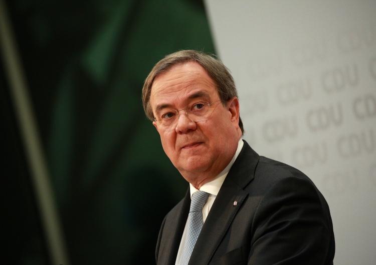 Armin Laschet Nowy szef CDU odmawia rewizji swojego poparcia dla Nord Stream 2