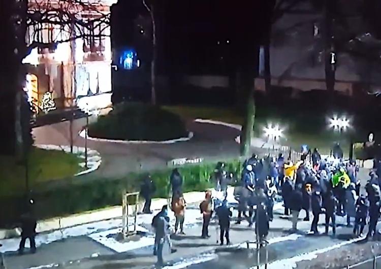 protest pod TK [video]
