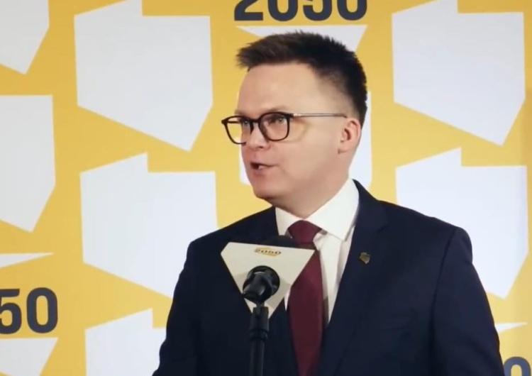 Szymon Hołownia Hołownia chce referendum ws. aborcji: