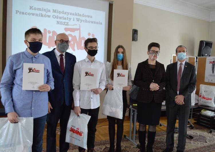 """Konkurs """"Solidarność – droga do wolności"""" pod patronatem P. Dudy"""