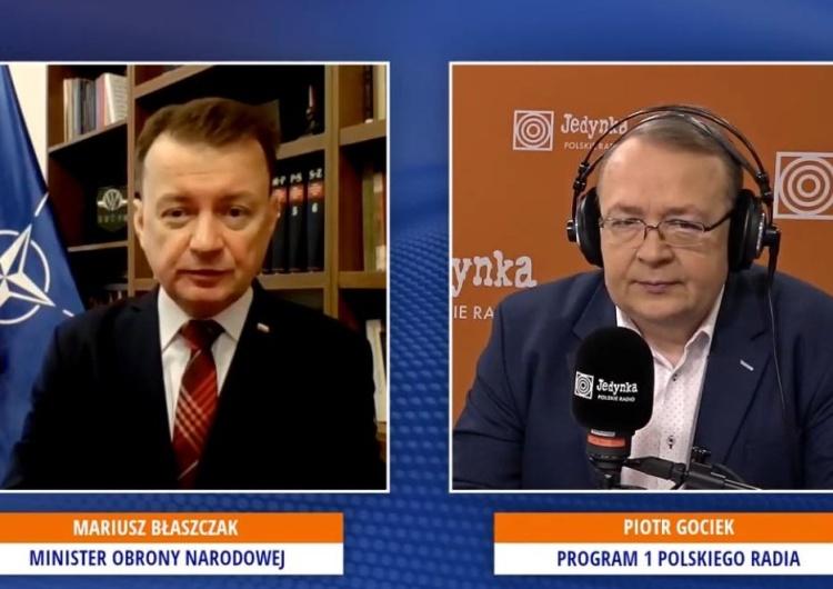 Mariusz Błaszczak, Piotr Gociek [video] Min. Błaszczak: W stoczni polskiej będą budowane okręty wojskowe dla WP