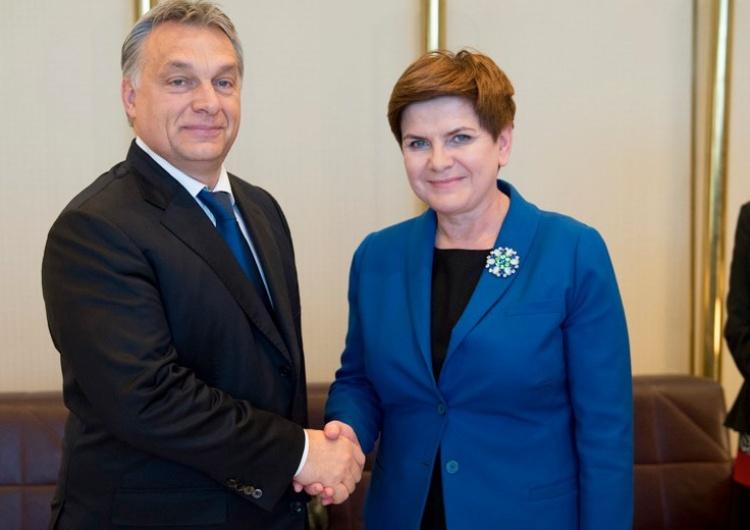 Viktor Orban et Beata Szydlo Orban: