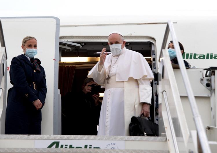 Papież Franciszek przybył do Bagdadu