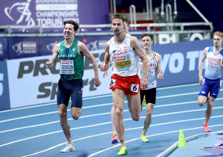 Marcin Lewandowski Marcin Lewandowski halowym mistrzem Europy w biegu na 1500 m!
