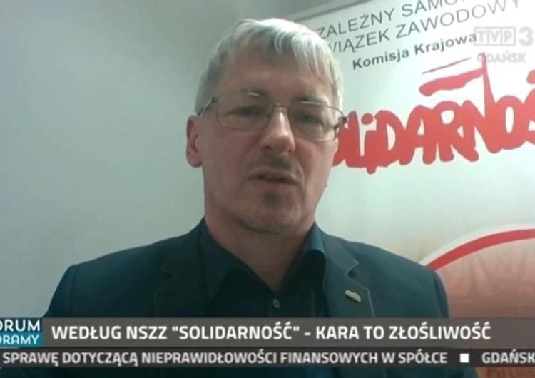 M. Lewandowski: Władze Gdańska nie lubią Solidarności