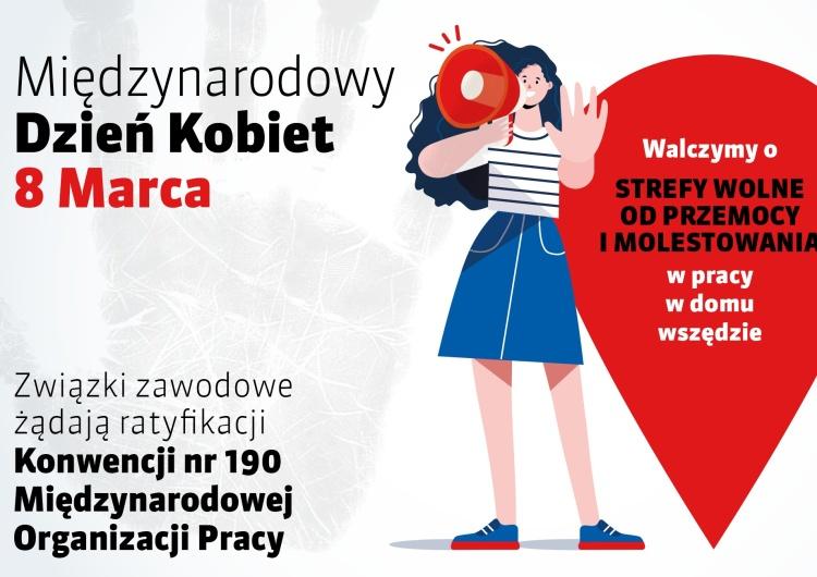 Stop przemocy wobec kobiet w miejscu pracy!