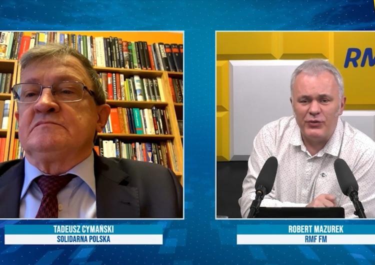 [video] Będzie awantura w Zjednoczonej Prawicy? T. Cymański mocno: