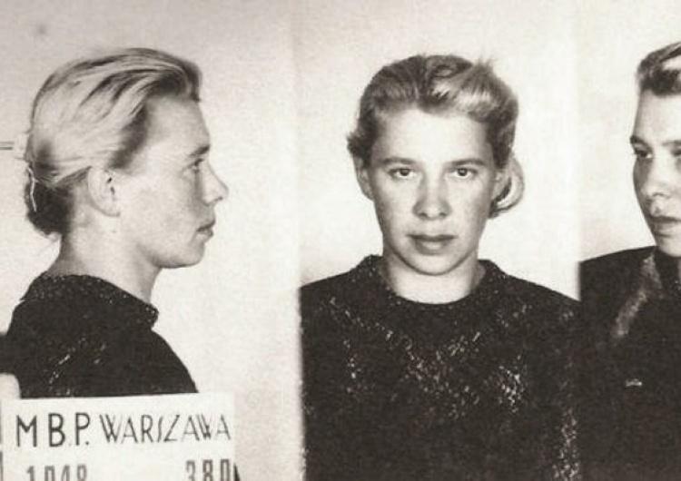 """Lidia Lwow-Eberle """"Lala"""" po aresztowaniu przez Ministerstwo Bezpieczeństwa Publicznego [Tylko u nas] Wilczyce"""