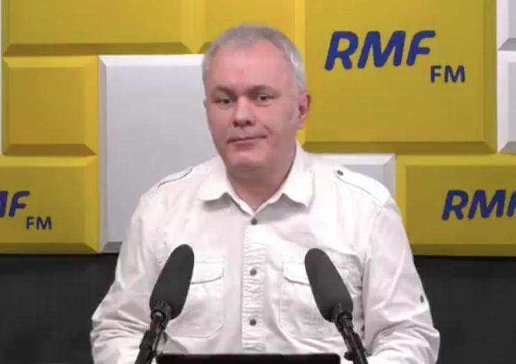 Robert Mazurek [video] Mazurek głośno wyśmiał Leszczynę: Wiedziałem, że na koniec rozmowy mnie Pani rozbawi