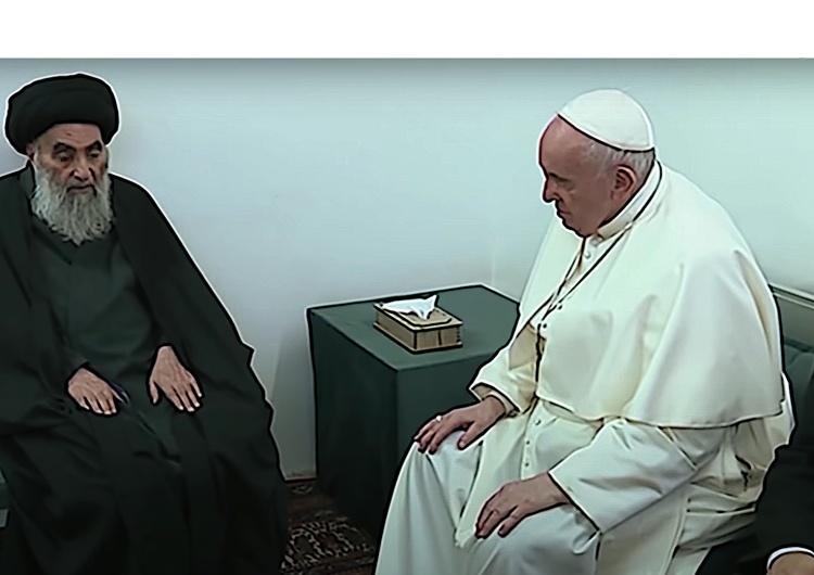 Ajatollah Ali al-Sistani, Papież Franciszek [Tylko u nas] Tomasz Terlikowski: Ryzyko rozmowy