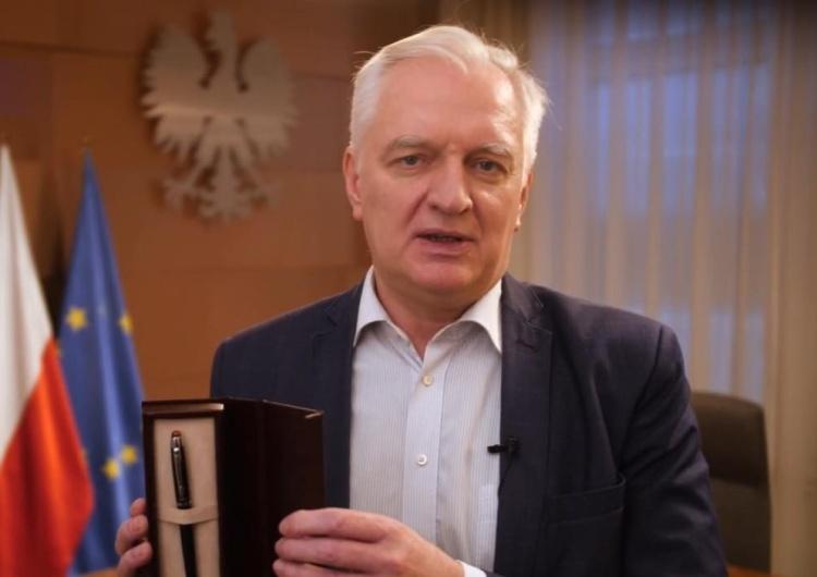 Jarosław Gowin Gowin: