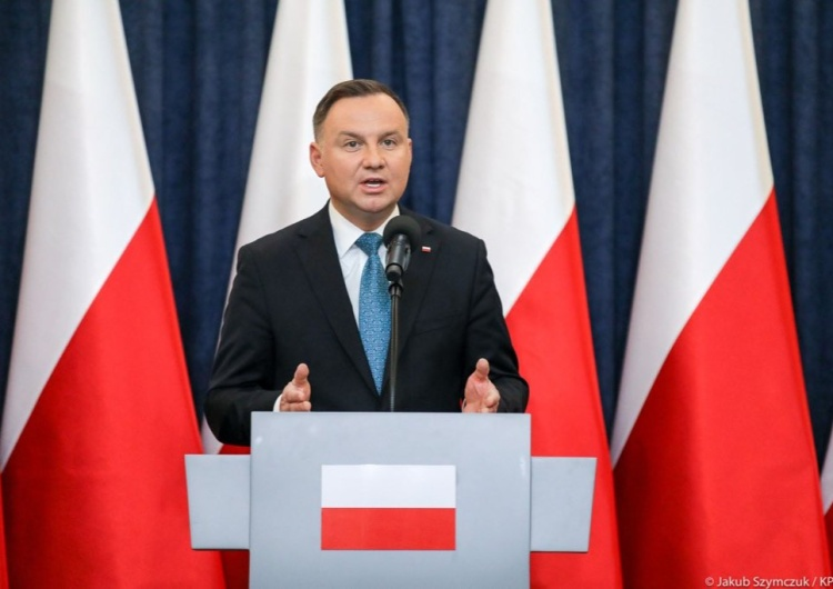 Kolejna nagonka na prezydenta Andrzeja Dudę. Błażej Spychalski: