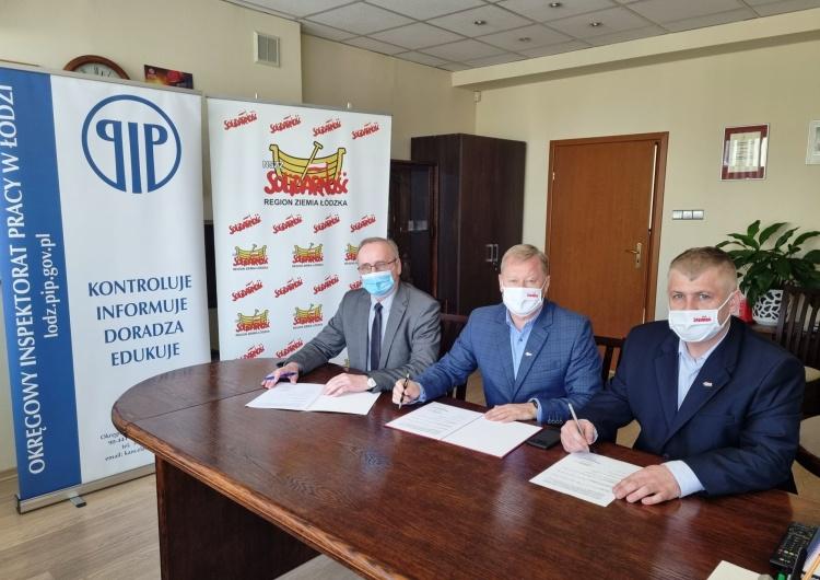 Łódzka Solidarność podpisała porozumienie z OIP