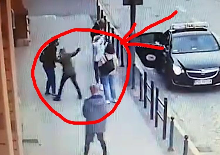 aktywistka atakuje gazem [video] Policja publikuje nagranie. Groziła prolajferom