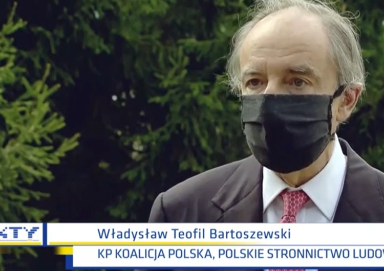 Władysław Teofil Bartoszewski, Fakty TVN