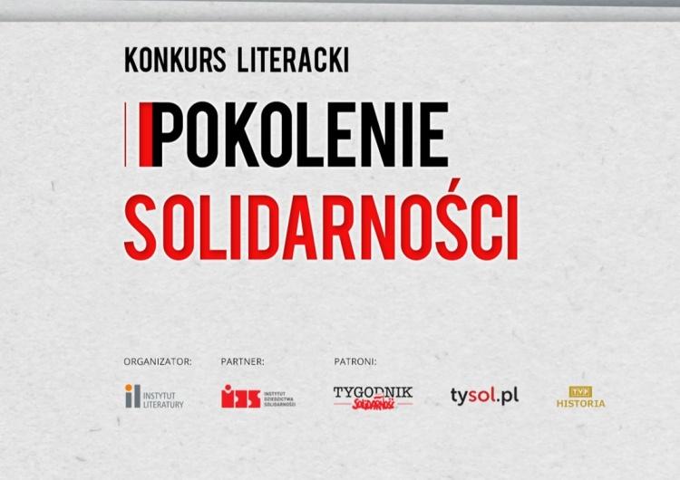 Konkurs literacki Pokolenie Solidarności
