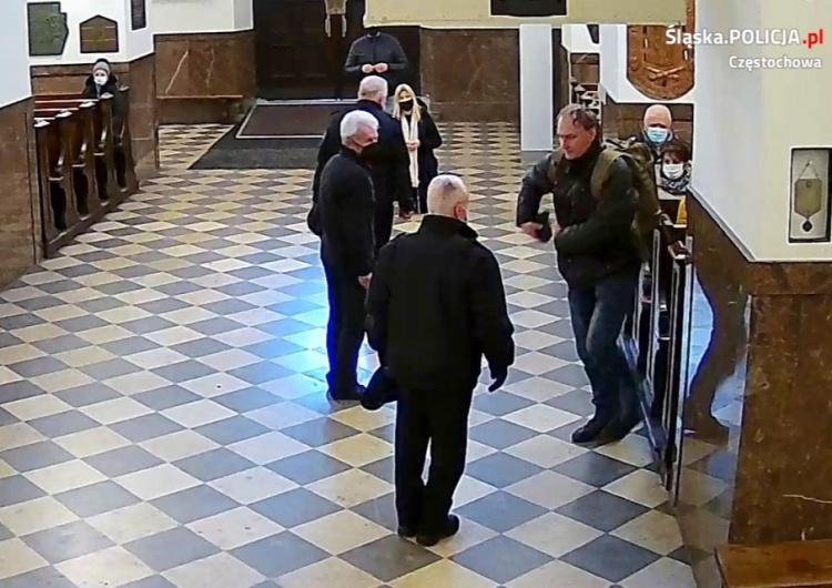 [FOTO] Napad na Jasnej Górze. Pobito strażnika klasztoru, policja szuka sprawcy. Poznajesz go?