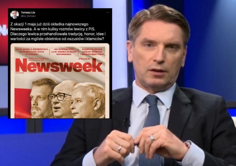 """Burza w sieci po publikacji okładki Newsweeka. """"To oficjalne stanowisko Platformy?"""" [FOTO]"""